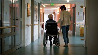 Blick in ein Pflegeheim