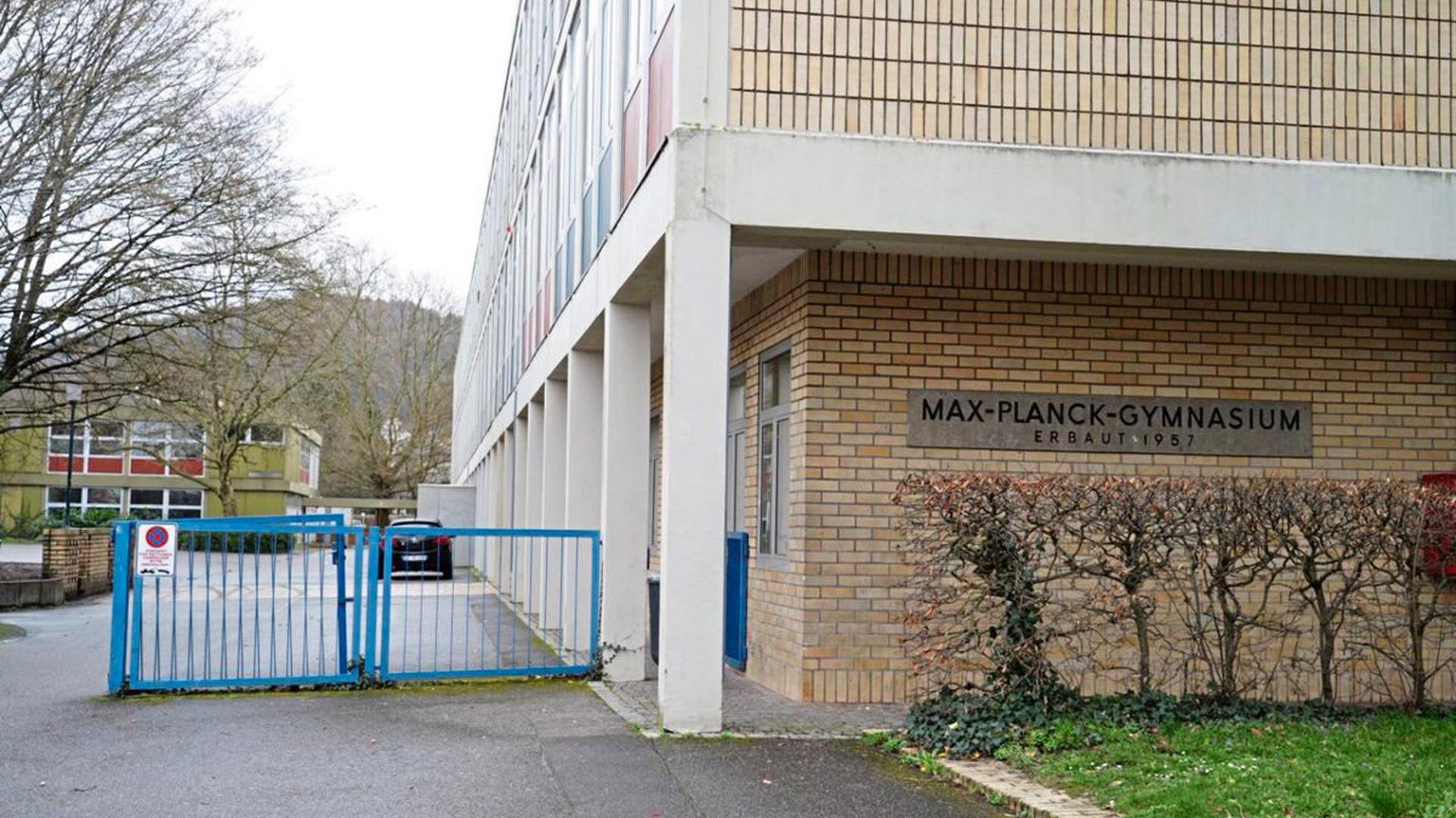 Das Max-Planck-Gymnasium in Lahr bleibt wegen des Coronavirus für 14 Tage geschlossen.