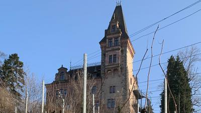 """Schneeglöckchen-Idylle: Wer aus der Rheineben in das Achertal fährt, sieht das Kappelrodecker Schloss Rodeck schon von Weitem.  Das Vorhaben, daraus ein """"Hotel mit medizinischer Komponente"""" zu machen, stockt offenbar."""