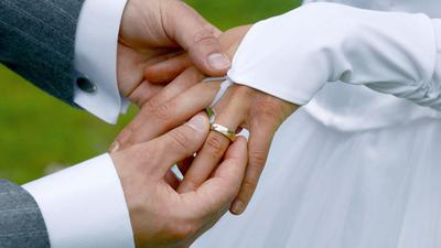 Symbolbild einer Hochzeit
