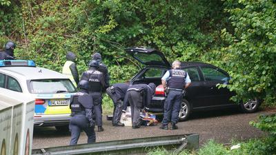 Polizei-Großaufgebot in Oppenau