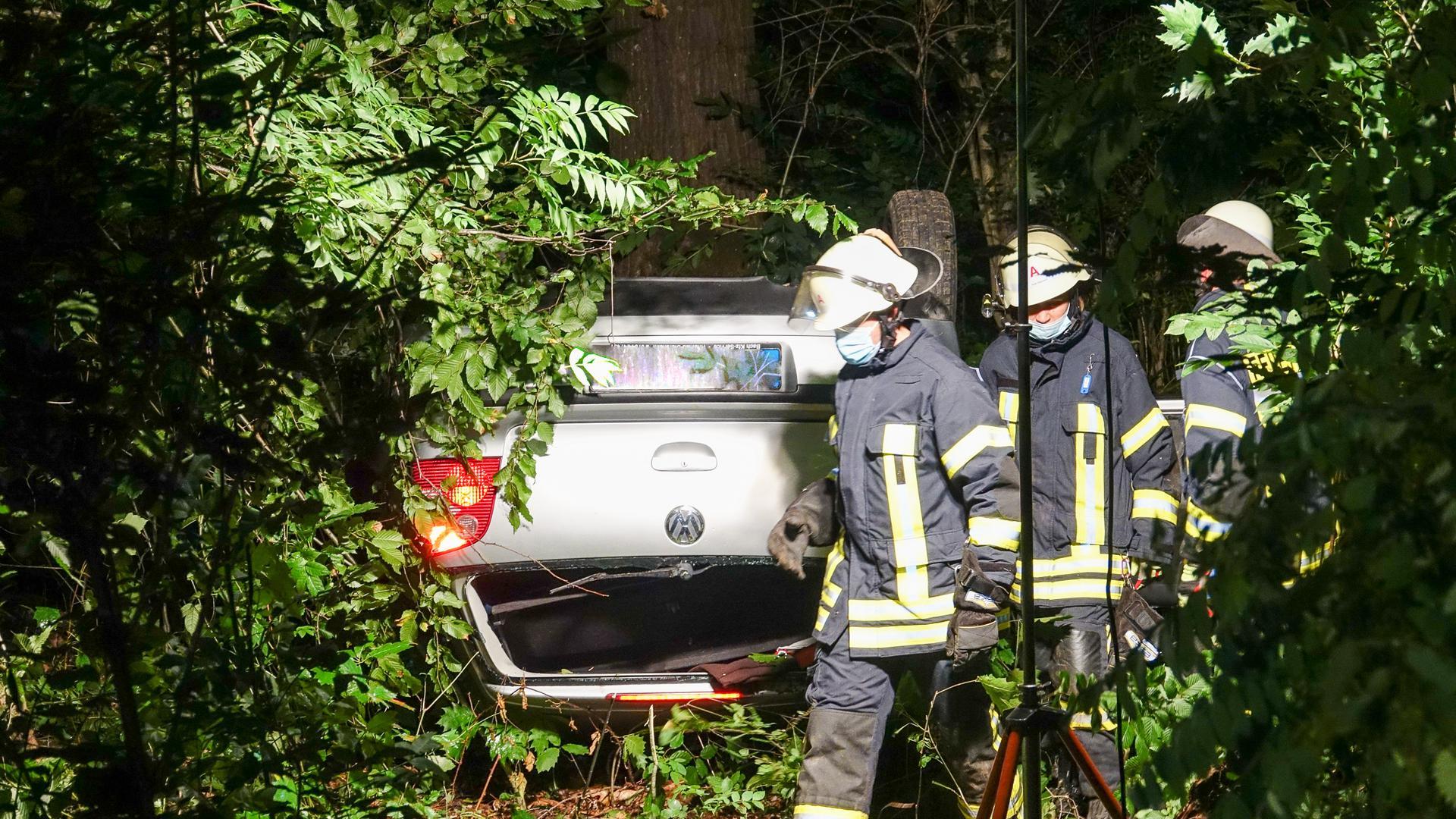 Autounfall Renchener Wald 080821