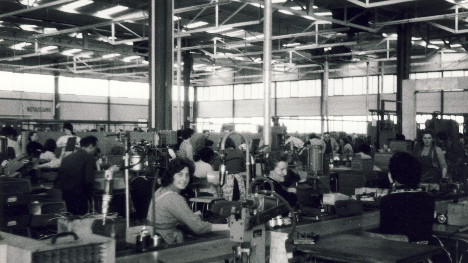 Bosch-Produktionshalle Rheinau