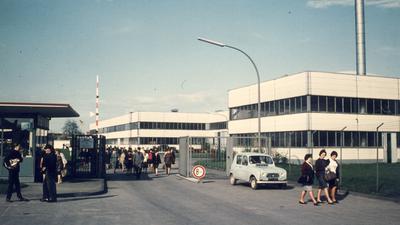 Zweigwerk von Bosch im Rheinauer Stadtteil Freistett