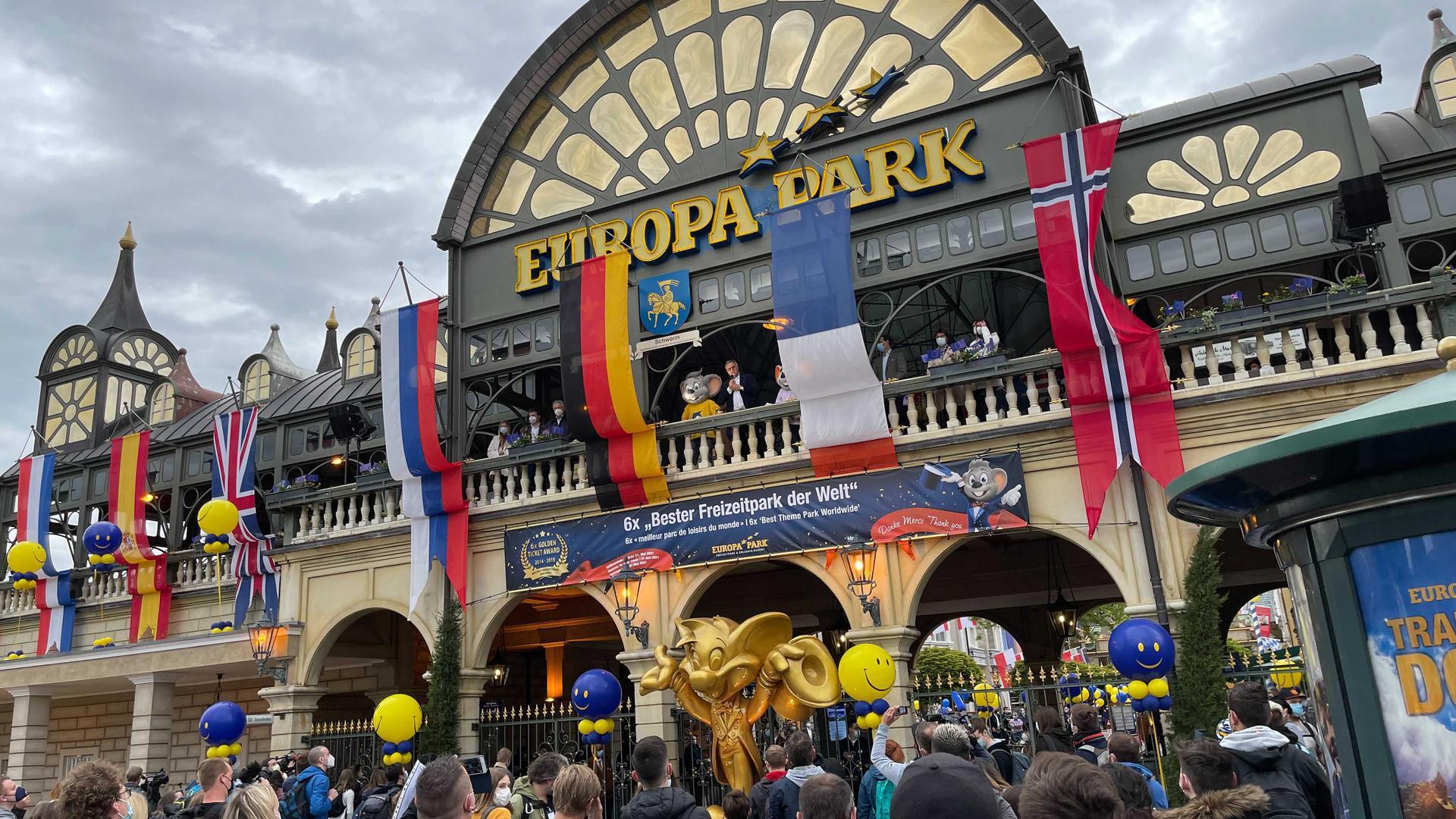 Eingangsbereich Europa-Park