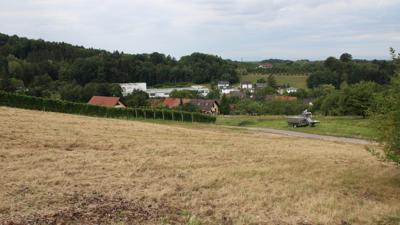 Umstrittenes Projekt: Auf dem Blumberg soll ein 35 Meter hoher Funkmast errichtet werden  – hier in Blickrichtung Obersasbach