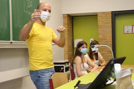 Powercloud-Chef Marco Beicht besuchte seine alte Schule