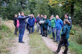 Waldbegehung Gemeinde Sasbach zu Standort für ein Windrad