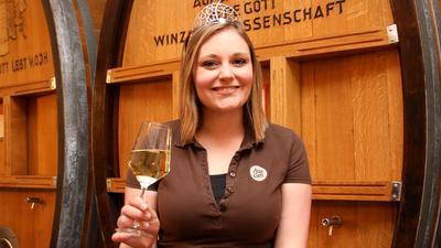 Victoria Lorenz freut sich auf das weinselige Amt der Badischen Weinprinzessin
