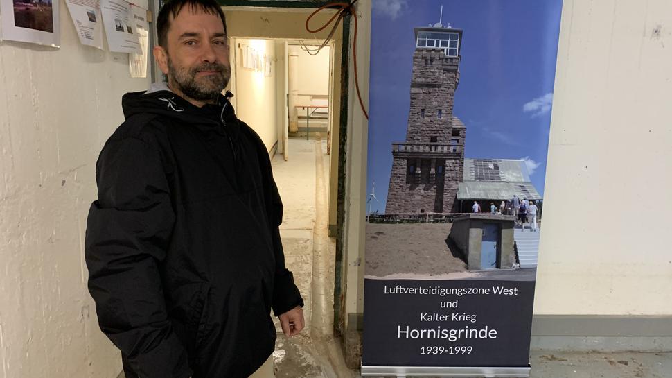 Friedrich Wein in Bunker auf der Hornisgrinde