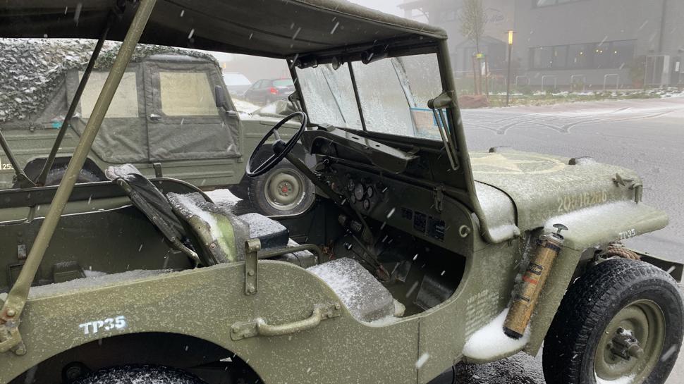 MB Willys Jeep auf der Hornisgrinde