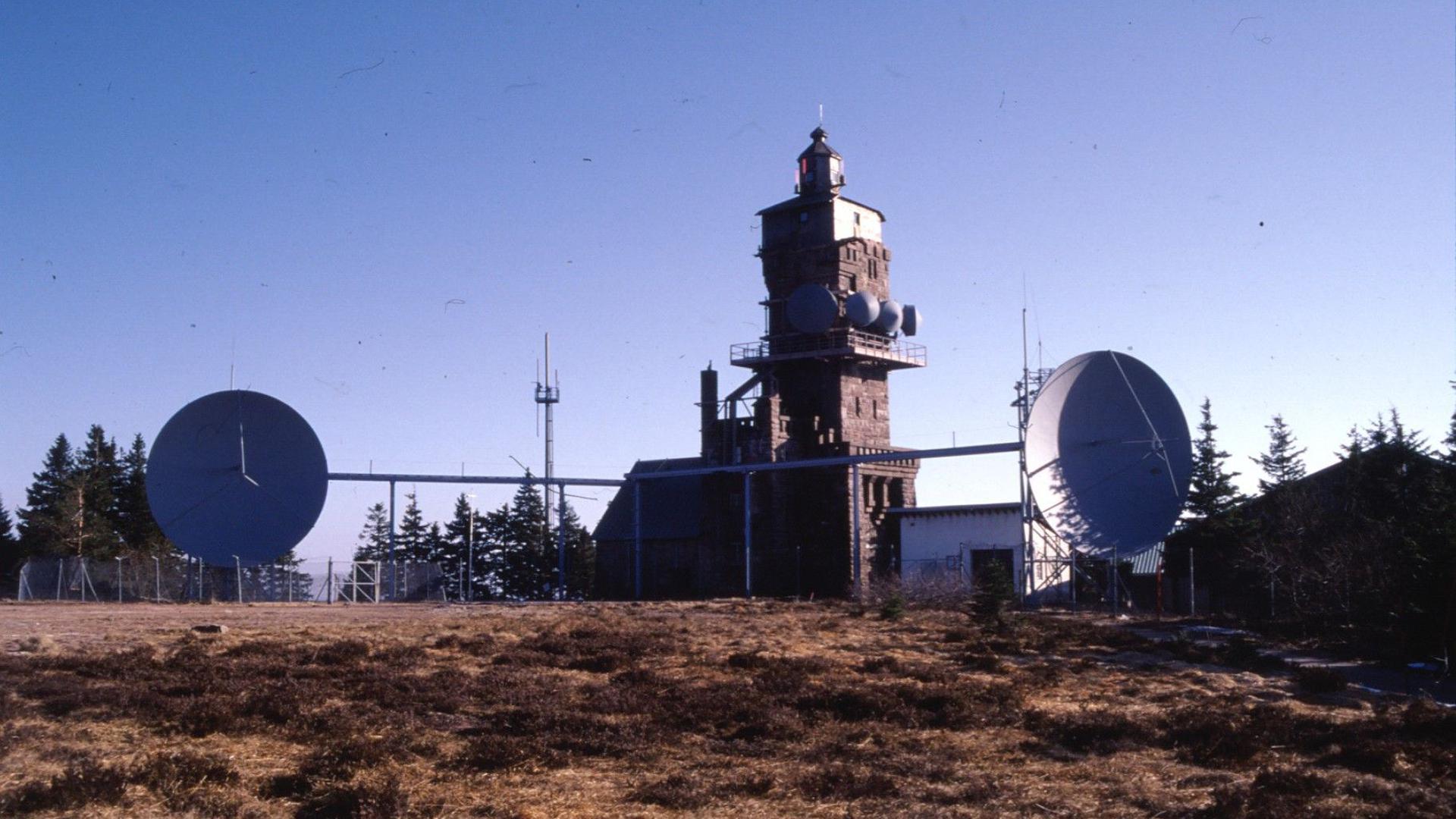 Antennenanlage der französischen Streitkräfte auf der Hornisgrinde