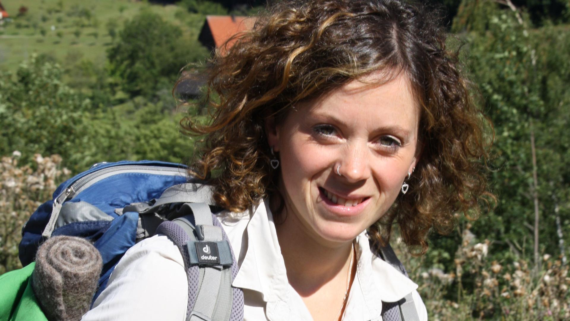 Friederike Schneider ist Rangerin im Nationalpark.
