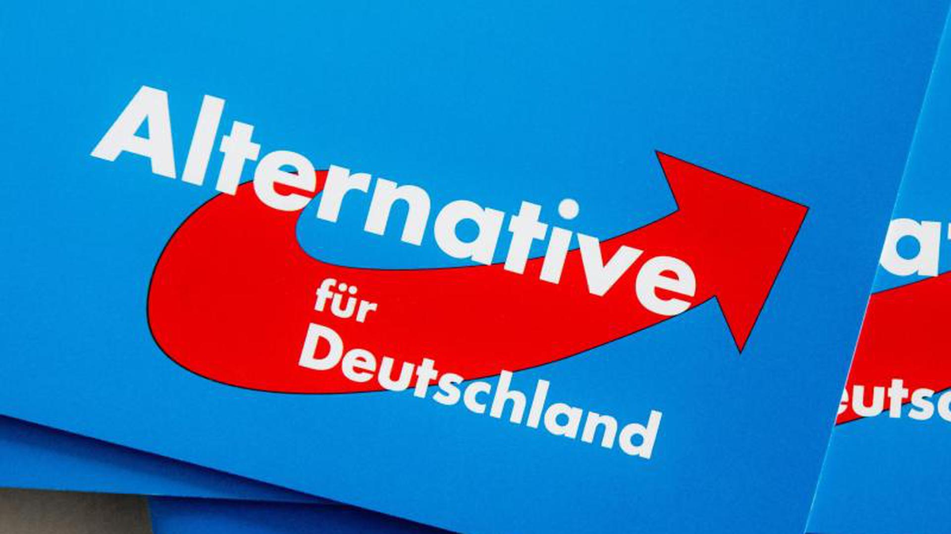Das Logo der Partei Alternative für Deutschland