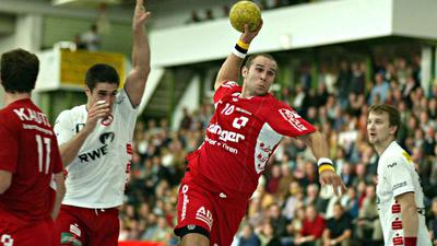 Blick in die Historie: In der Saison 2008/09 wurde in der Willstätter Hanauerlandhalle, in der damals Grzegorz Garbacz im Trikot der HR Ortenau auflief, letztmals um Zweitligapunkte gekämpft.