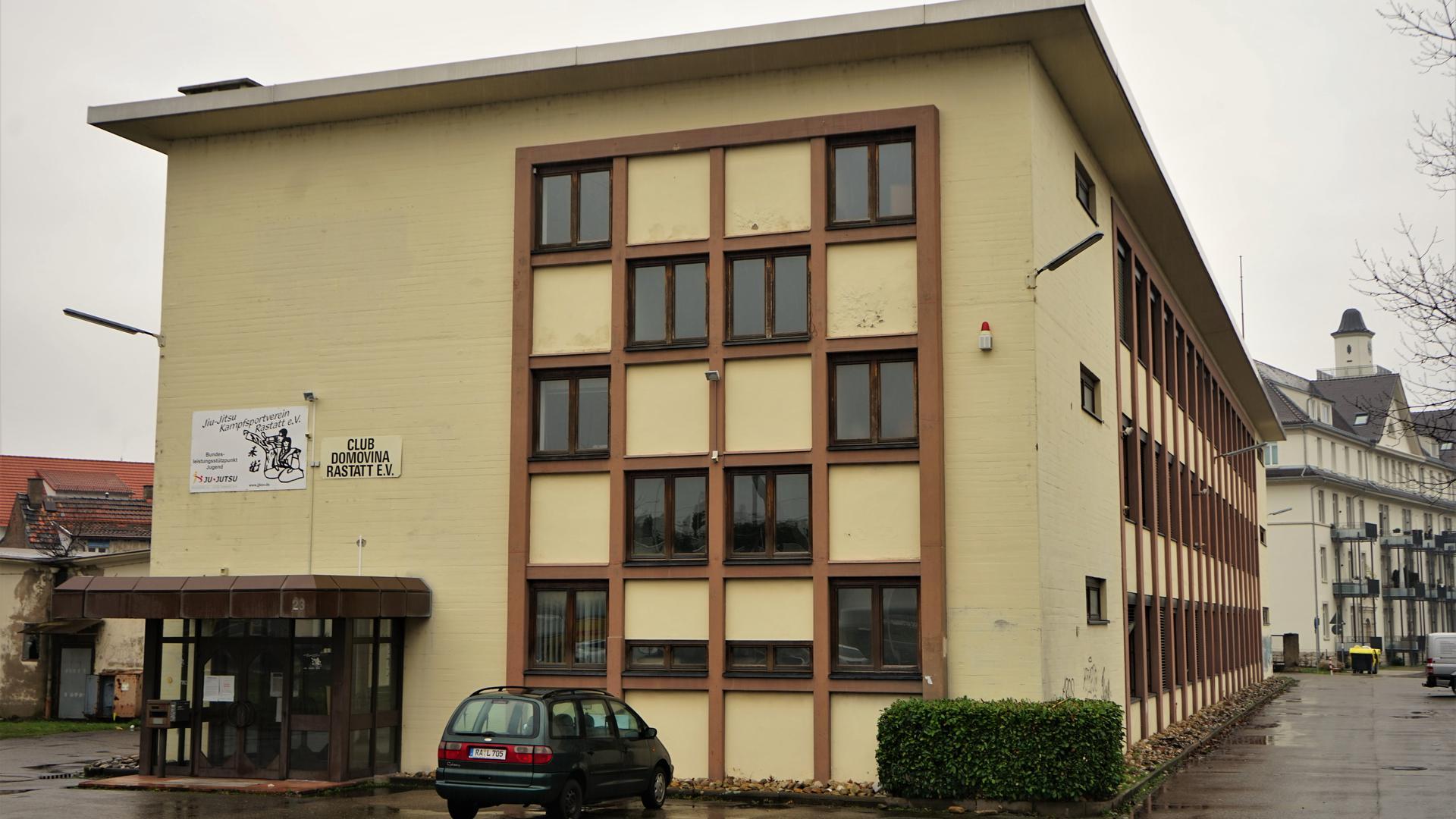 Ehemaliges SWI-Gebäude in Rastatt