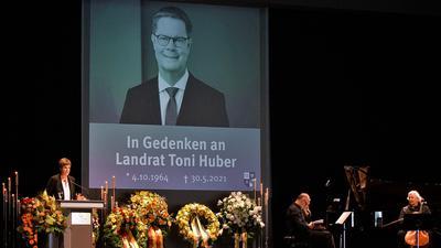 Trauerfeier Huber