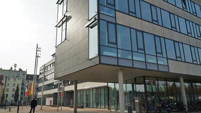 Gebäudeansicht Landratsamt Rastatt