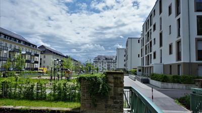 Innenentwicklung: Auf dem ehemaligen Kasernen-Areal Joffre wurde eine innerstädtische Konversionsfläche für wohnbauliche Zwecke genutzt.