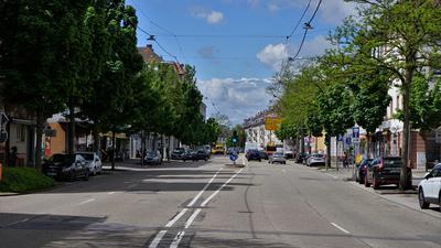 Straße, Bahnhofsstraße, Rastatt