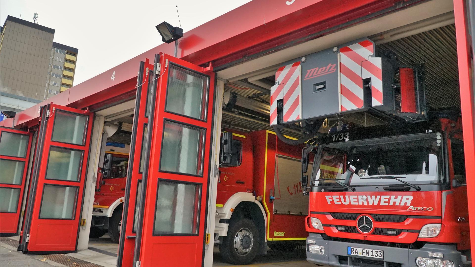 ein Feuerwehrauto