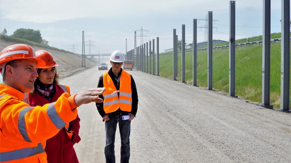 Der Bahnneubau geht zwar voran, doch verzögert sich das Projekt bis mindestens 2024.