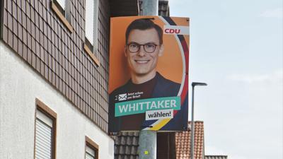 Ein Wahlplakat