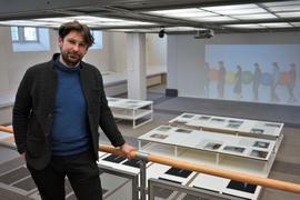 """Sebastian Schmitt in der Ausstellung """"On The Quiet"""""""