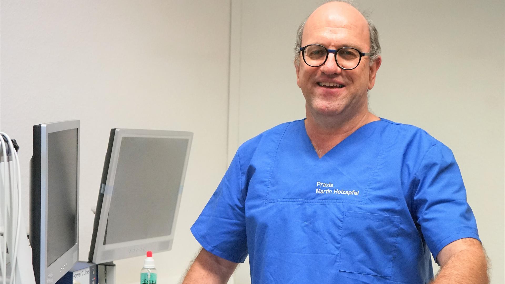 Hausarzt Martin Holzapfel aus Rastatt-Ottersdorf