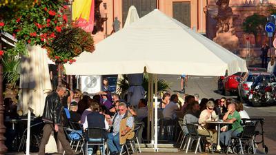 Gastronomie Rastatt Schlossgaststätte. Foto: Collet