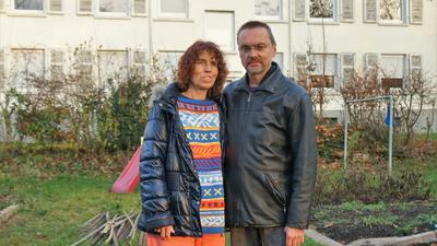 Bislang unerfüllte Hoffnung:  Das  Ehepaar  Merten   ist auf der suche nach einer neuen wohnung noch nicht fündig geworden.