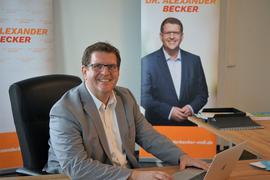 CDU-Kandidat Alexander Becker will  den Wahlkreis Rastatt weiterhin im baden-württembergischen Landtag vertreten.