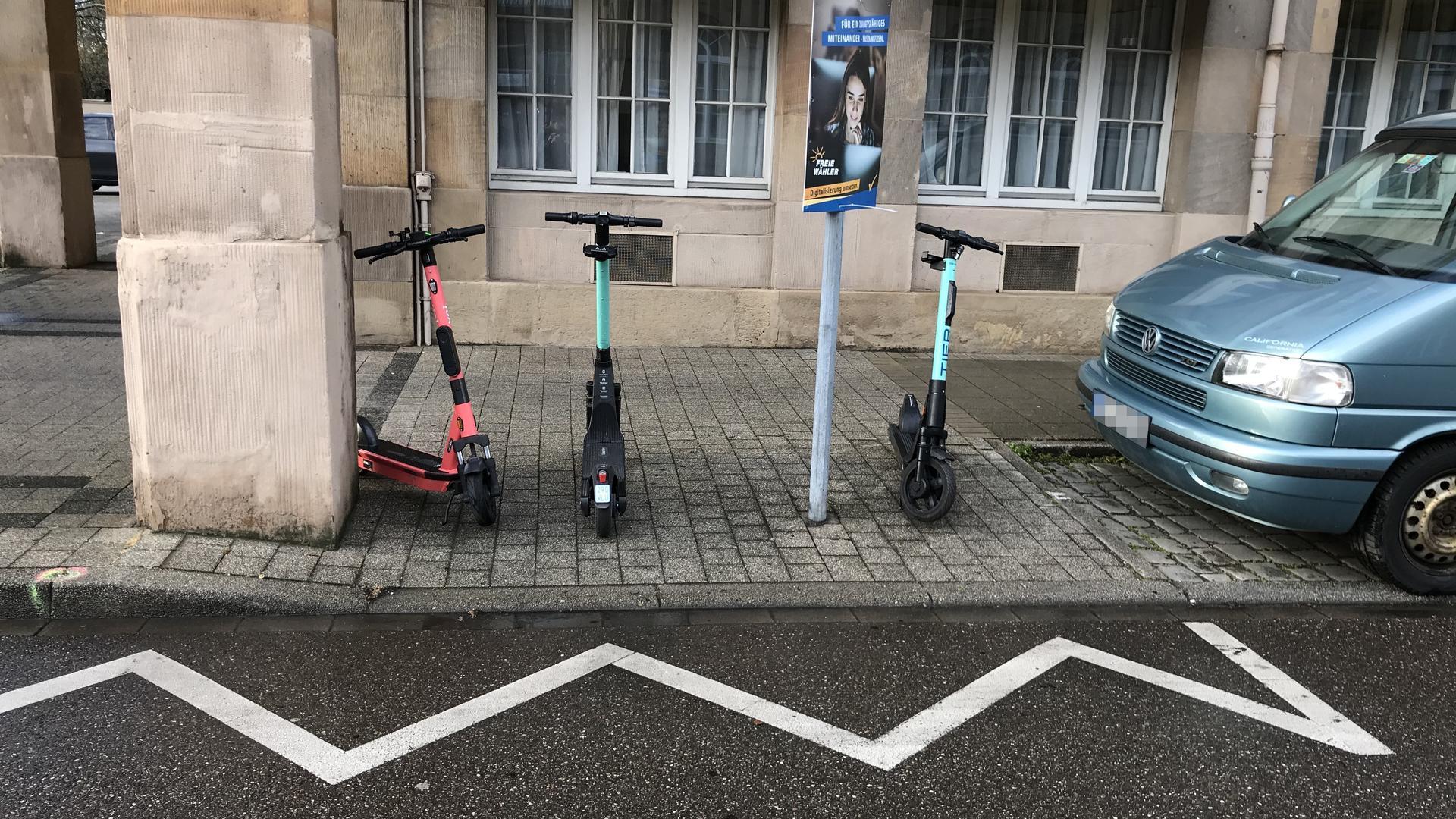 Scooter, Stadt, Anbieter