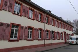Stammgebäude der Pestalozzi-Schule Rastatt in der Herrenstraße 19