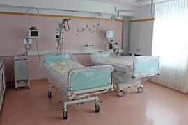 Ein Krankenhauszimmer