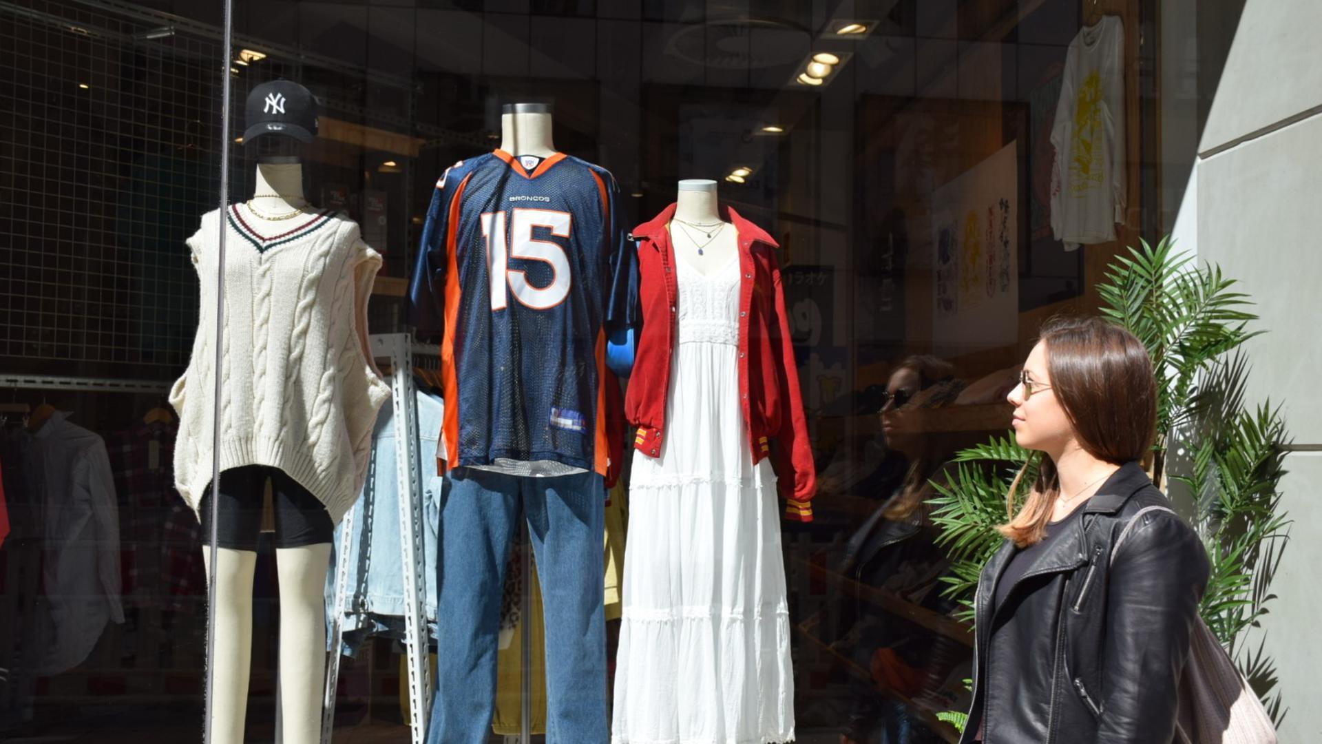Bewusst shoppen: Sandra Overlack aus Rastatt kauft fast ausschließlich Second-Hand-Kleidung, um weniger Ressourcen zu verbrauchen.