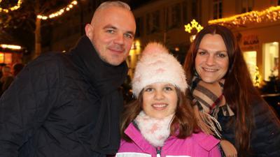 Familie Bartylla will die Schausteller mit ihrem Besuch unterstützen.