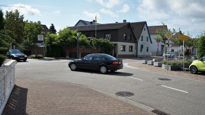 Autos, Häuser, Straße