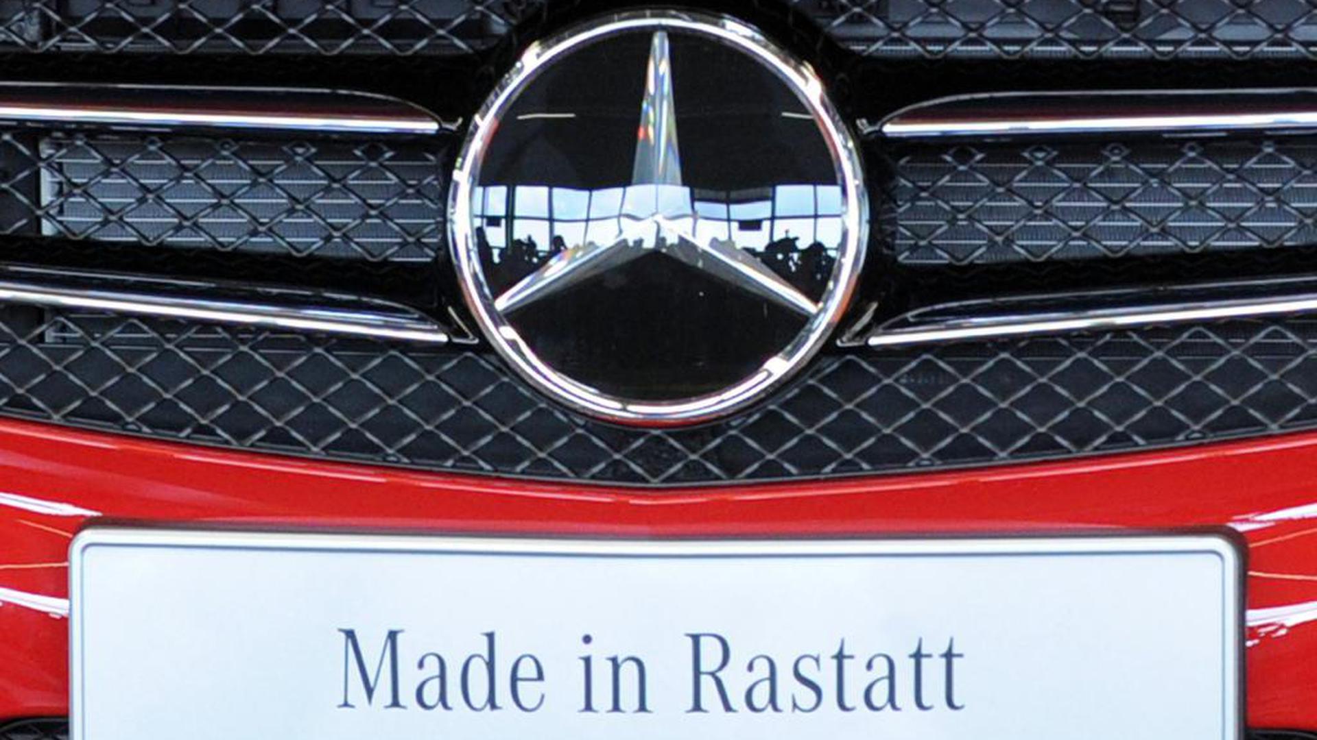 Im Rastatter Benz-Werk wurden Mitarbeiter positiv auf das Coronavirus getestet.
