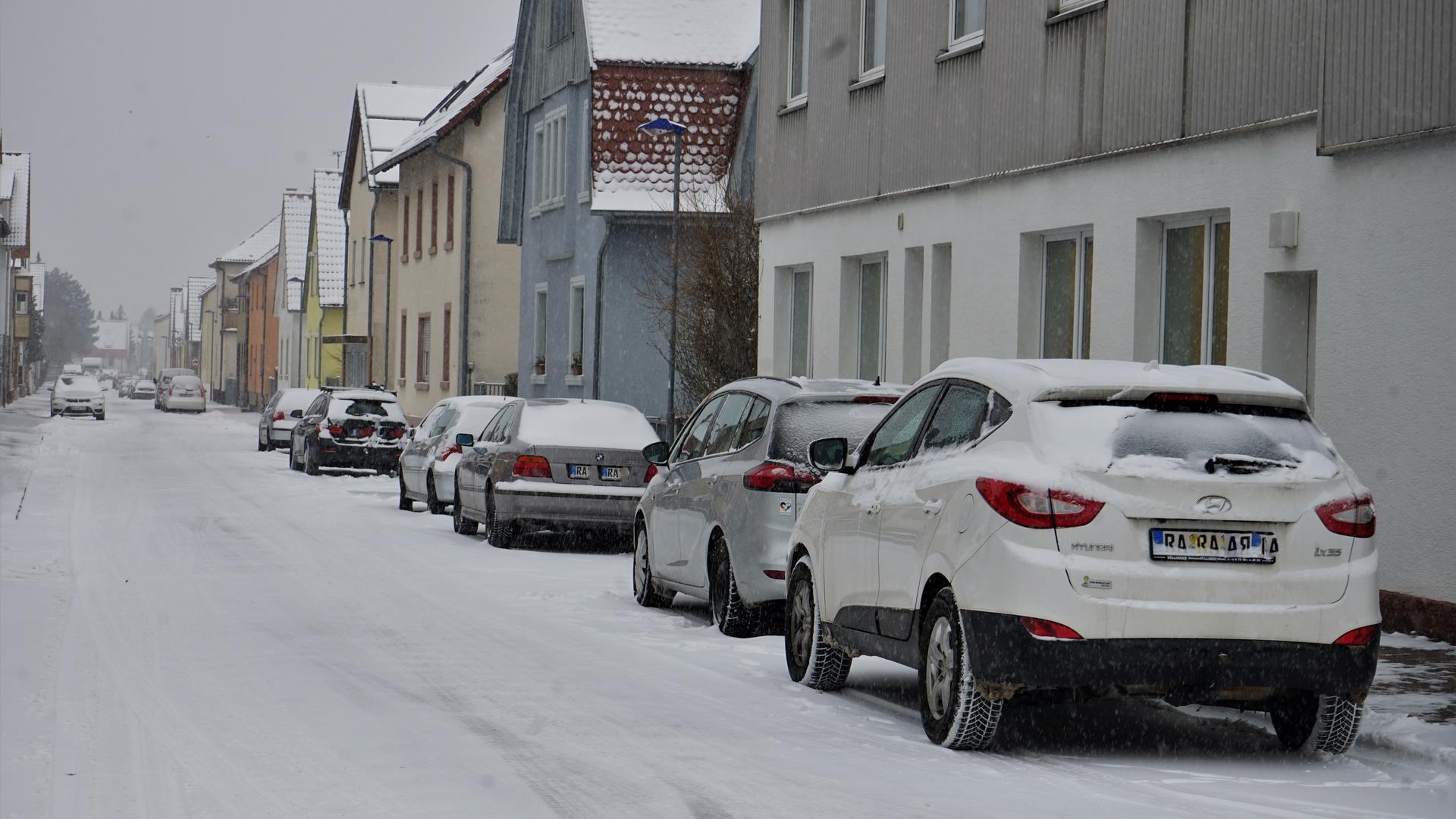 Veränderungen geplant: Entlang der Werderstraße  sollen einseitige Halteverbote und markierte Parkplätze die Verkehrssicherheit erhöhen.