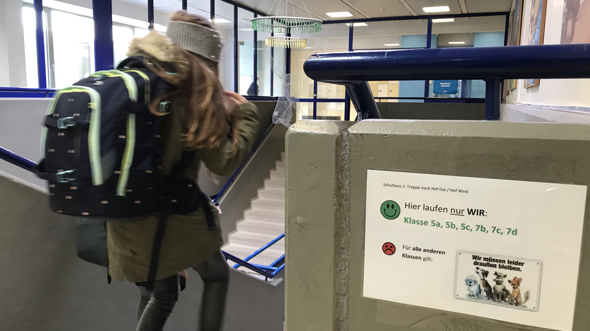Keine Einbahnstraße: Begegnungsverkehr ist am WHG erlaubt, aber nur zwischen festgelegten Klassenstufen.