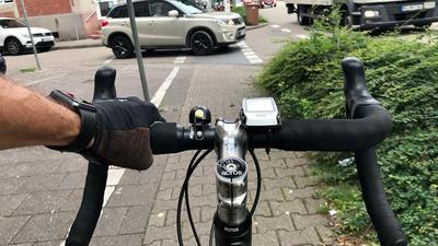 Ein Radweg.