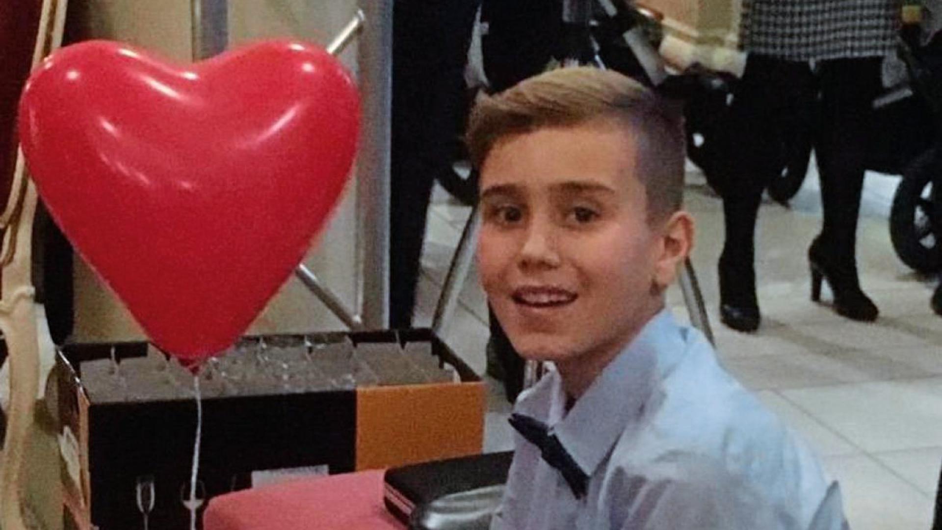 Der zehnjährige Finn aus Rastatt hat Blutkrebs.