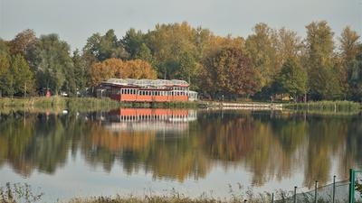 See, Wald, Haus , Ufer