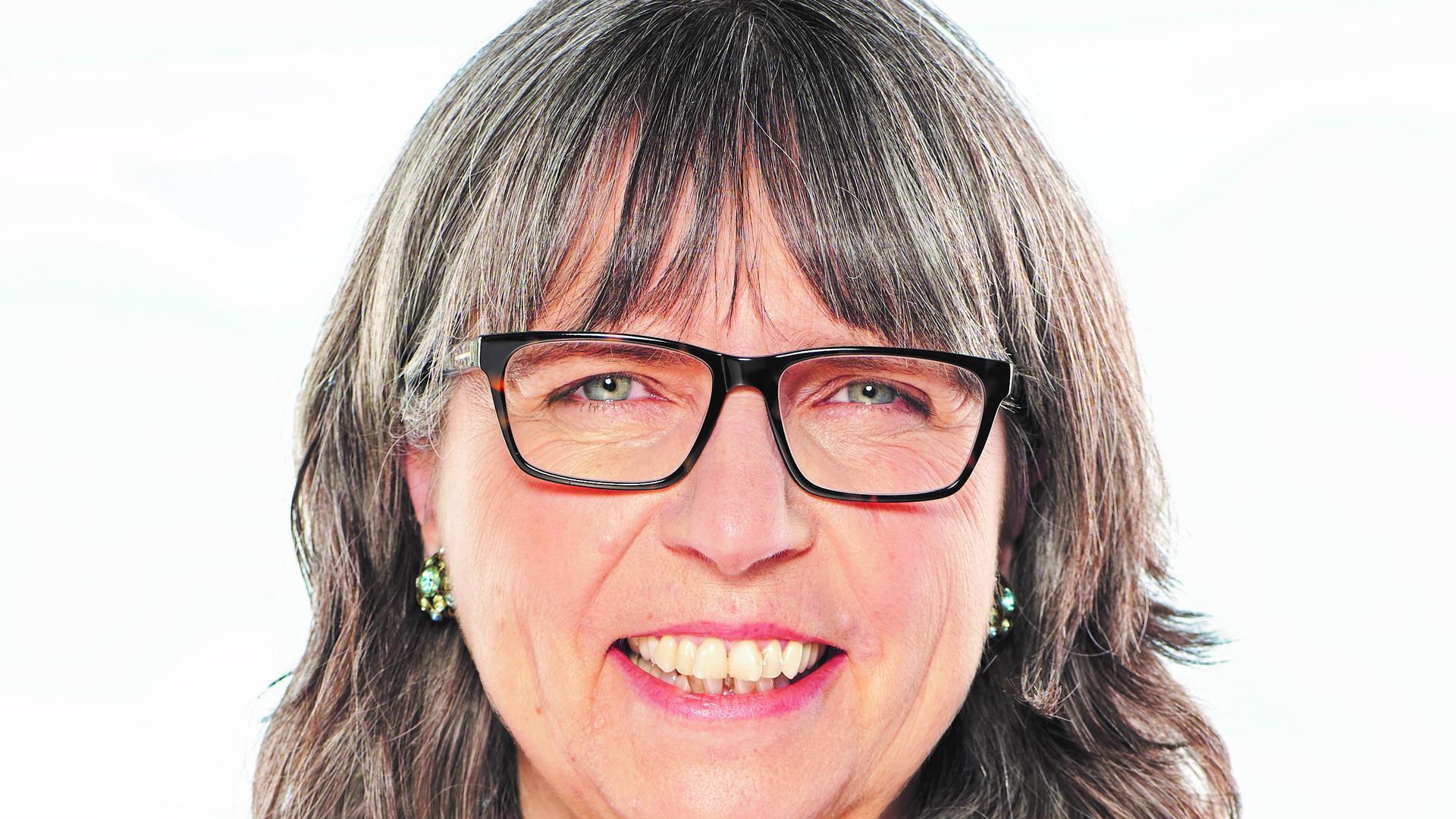 Anwärterin  auf den Chefsessel im Rathaus:  Ulrike Alex will  in Hügelsheim Bürgermeisterin werden.
