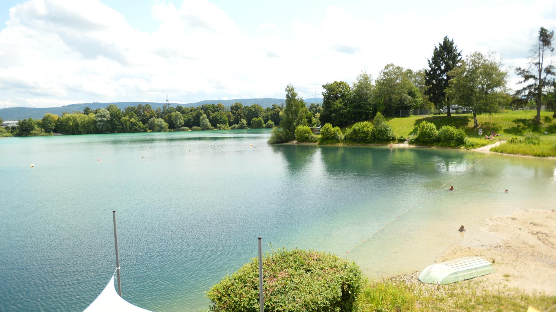 Der Kaltenbachsee am Rand von Muggenstrum