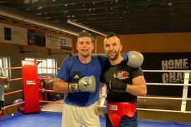 Zwei Boxer