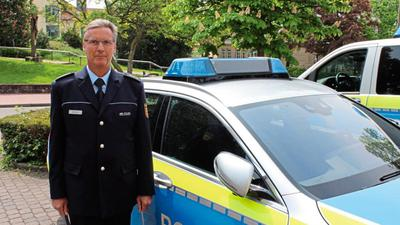 Andreas Dahm leitet das Polizeirevier in Rastatt.