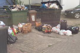 Müll, Müllcontianer