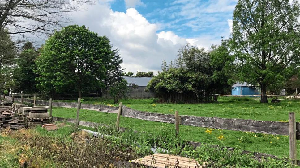 Der Rosenhof bei Sinzheim mit PFC-belastetem Brunnen